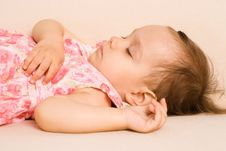 Free Cute Girl Sleeping Royalty Free Stock Image - 20957946