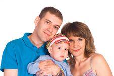 Free Nice Family Portrait Stock Image - 20958001