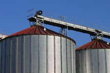 Free Metal Silos Stock Photography - 20958042