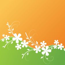 Free Floral Design. Vector Illustration Stock Photography - 20958272
