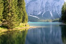 Free Lake Prags In Tyrol Royalty Free Stock Photography - 20958397