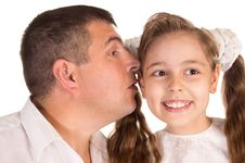 Free Daddy And Daughter Stock Images - 20958874
