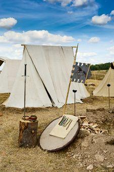 Free Medieval Craftsmen Village Stock Image - 20959071