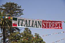Free Italian Street Royalty Free Stock Photo - 20959225