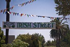 Free Irish Street Royalty Free Stock Photos - 20959238