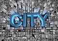 Free City Text Royalty Free Stock Photo - 20960985