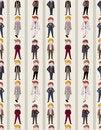 Free Seamless Young Boy Pattern Stock Photo - 20961050