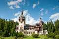 Free Idyllic Royal Castle In A Mountain Forest Stock Photography - 20962152