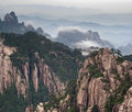 Free Huangshan Mountain And Chinese Style House Royalty Free Stock Image - 20964446