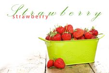 Free Strawberries Royalty Free Stock Photos - 20960408