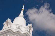 Free White Temple Stock Photo - 20960440