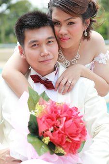 Free Wedding Suit Of Couple Stock Image - 20960641
