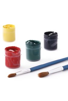 Free Paint Brushes Royalty Free Stock Images - 20960769