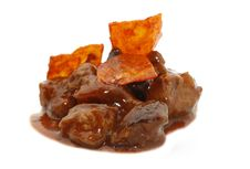 Free Sweet And Sour Pork With Cassava Royalty Free Stock Images - 20960789