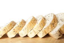 Free Sliced Sesame Bred Royalty Free Stock Image - 20961096