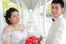 Free Wedding Suit Of Couple Stock Images - 20961194