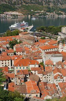 View On Kotor, Montenegro Royalty Free Stock Images