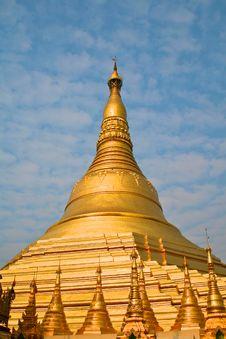 Free Shwedagon Pagoda In Yangon, Burma Royalty Free Stock Image - 20961746
