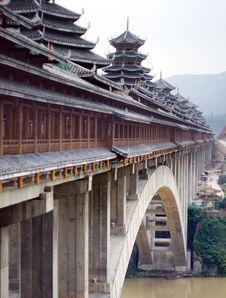Free Chinese Bridge Royalty Free Stock Image - 20961786