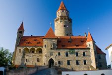 Free Bouzov Castle Royalty Free Stock Photo - 20961845