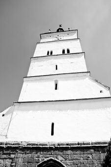 Free Tall White Tower Of A Saxon Church Royalty Free Stock Photos - 20961938