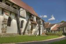 Free HDR Image Of A Fortified Church In Rural Romania Stock Photo - 20961970