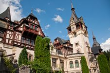 Free Most Beautiful Castle In Romania Royalty Free Stock Images - 20962199