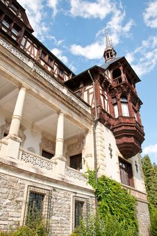 Free Architecture Detail At Peles Castle Stock Images - 20962274
