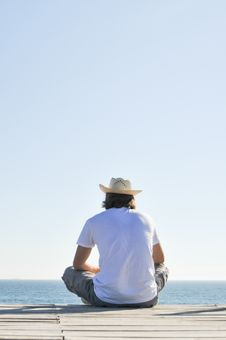 Free Man In Hat Stock Photos - 20962433