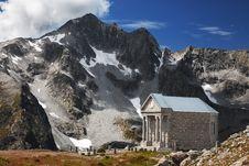 Free Church In High Mountain Stock Photo - 20962710