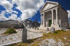 Free Church In High Mountain Stock Photos - 20962713
