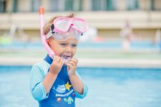 Free Boy Playing In A Pool Of Water Stock Images - 20963054