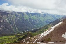 Caucasus Mountains. Dombai Stock Photo