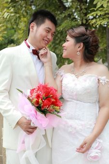 Free Wedding Suit Of Couple Stock Photos - 20963483
