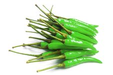 Free Many Green Chili For Cooks , It S Spicy Stock Images - 20964424