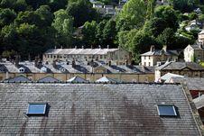 Free Rooftops Over Hebden Bridge Stock Photo - 20965130