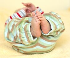 Free Cute Baby Foots Royalty Free Stock Photography - 20965137