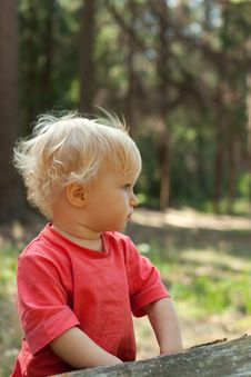 Free Baby Determined Look Stock Image - 20965311