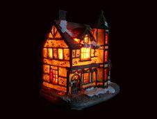 Free Illuminated House Royalty Free Stock Photography - 20965637