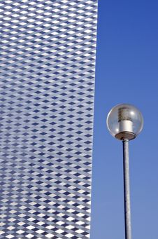Free Street Lamp And  Architecture Detail Royalty Free Stock Image - 20965666