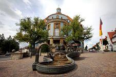 German Village City Hall Stock Photography