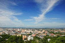 Free The Bird Eye View Of Pattaya City Royalty Free Stock Photography - 20966647