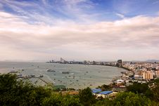 Free The Bird Eye View Of Pattaya City Stock Photo - 20966710