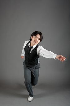 Free Asian Male Jazz Dancer Royalty Free Stock Photo - 20966785