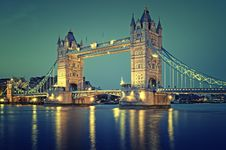 Free Tower Bridge, London Stock Image - 20966861