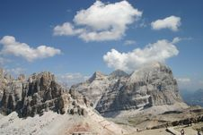 Free Mountain Tops In The Dolomites Stock Images - 20966934