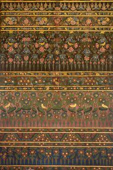 Free Thai Art Painting On Wall Stock Photos - 20967003