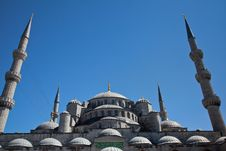 Free Blue Mosque Royalty Free Stock Images - 20967019