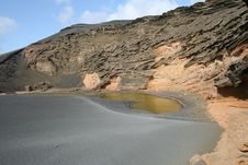 Free Green Lake (Lanzarote) Stock Images - 20967214