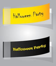 Free Special Halloween Party Ticket Royalty Free Stock Photo - 20967315